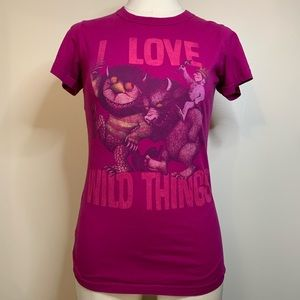 UO vintage Where the Wild Things Are T-shirt